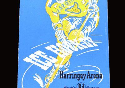 Haringay v Ayr (Ice Hockey) 02.04.1955