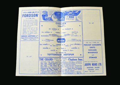 Chelsea v Spurs 17.11.1945