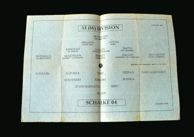 53 W Division v Schalke 25.11.1945