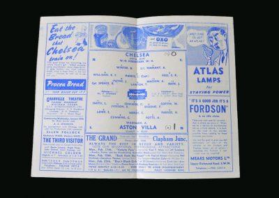 Chelsea v Villa 09.02.1946 (FA Cup 5th Round 1st Leg)