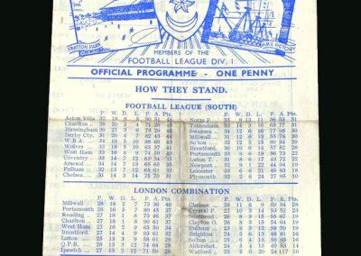 Portsmouth v Birmingham 30.03.1946
