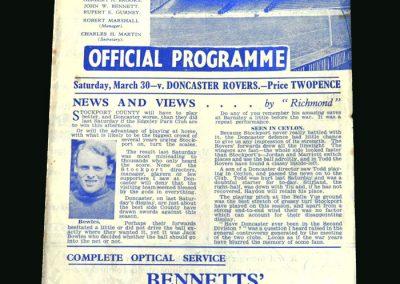 Stockport v Doncaster 30.03.1946 (Longest ever game)