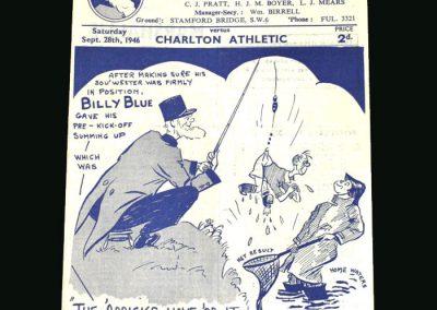 Chelsea v Charlton 28.09.1946
