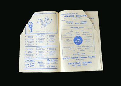 Blackburn v Sheff Utd 19.10.1946