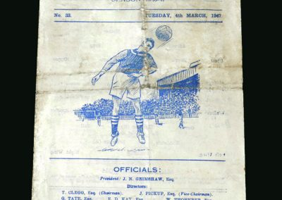 Burnley v Middlesbrough 04.03.1947 (FA Cup 6th Round)