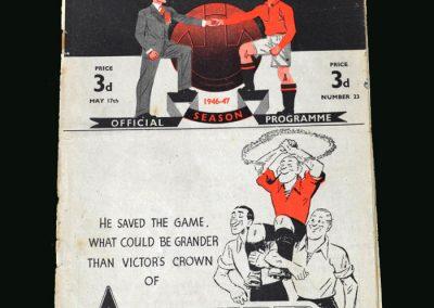 Man Utd v Portsmouth 17.05.1947