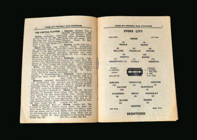 Stoke v Brentford 19.04.1947