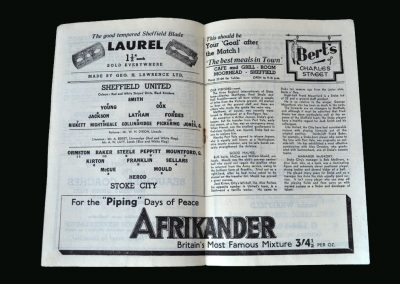 Stoke v Sheff Utd 14.06.1947 (Title Decider)