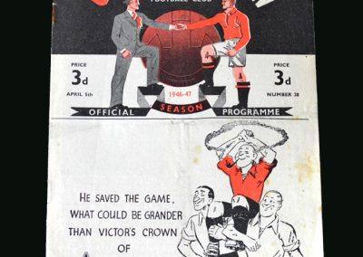 Wolves v Man Utd 05.04.1947