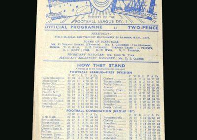 Wolves v Portsmouth 03.05.1947