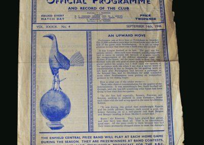 Newcastle v Spurs 14.09.1946