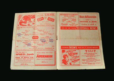 FA 11 v Combined 11 (Hall Test) 18.09.1946