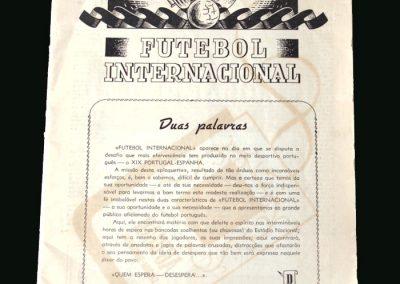 Portugal v Spain 26.01.1947