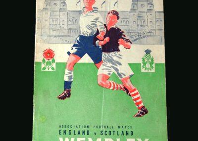 England v Scotland 12.04.1947