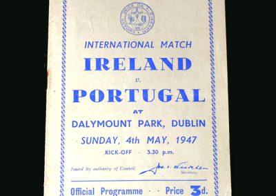 Ireland v Portugal 04.05.1947