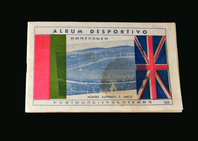 Portugal v England 25.05.1947 England win 10-0. Mortensen [debut] & Lawton 4 goals each. Matthews got the crucial 10th.