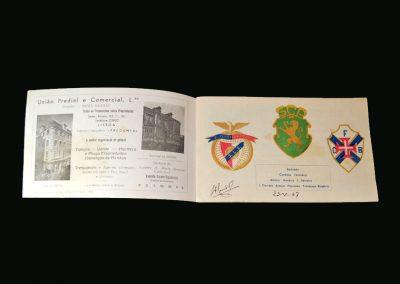 Portugal v England 25.05.1947