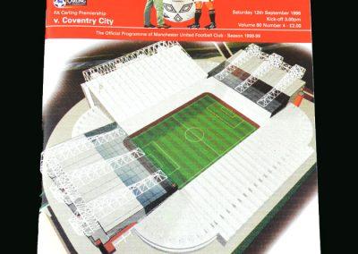 Man Utd v Coventry 12.09.98