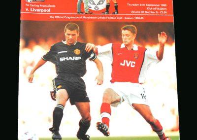 Man Utd v Liverpool 24.09.98