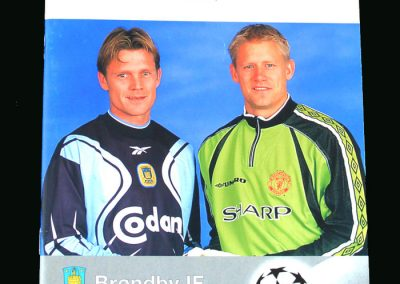 Man Utd v Brondby 21.10.98 (Champions League Group Stage)