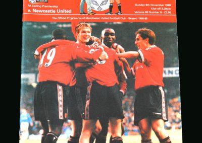 Man Utd v Newcastle 08.11.98