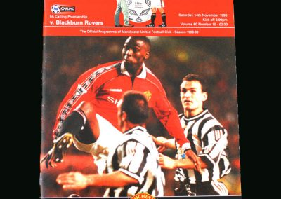 Man Utd v Blackburn 14.11.98