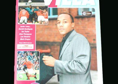 Man Utd v Aston Villa 05.12.98