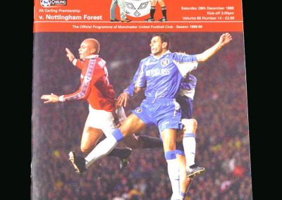 Man Utd v Notts Forest 26.12.98