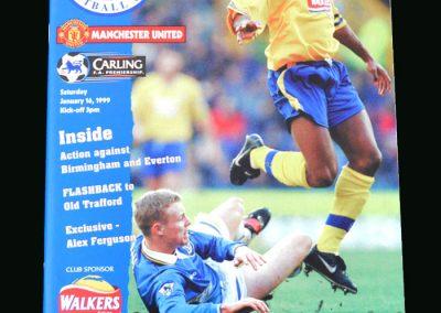 Man Utd v Leicester 16.01.99