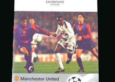 Man Utd v Inter Milan 03.03.99 (Champions League Quarter Final Round 1)