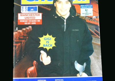 Man Utd v Chelsea 10.03.99 (FA Cup Round 6 Replay)
