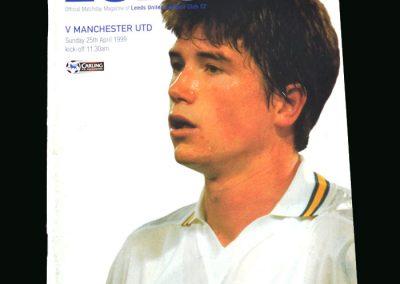 Man Utd v Leeds 25.04.99