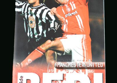 Man Utd v Middlebrough 09.05.99