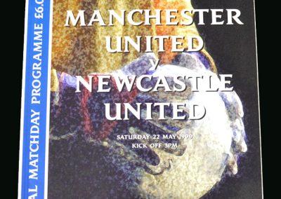 Man Utd v Newcastle 22.05.99 (FA Cup Final)