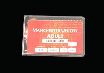 Man Utd Season 98/99 Unused Season Ticket!!!