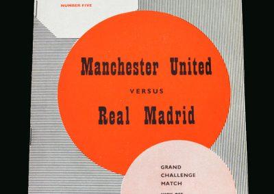 Man Utd v Real Madrid 01.10.1959 (friendly)