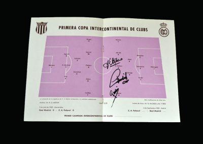 Real Madrid v Penarol 04.09.1960 (Inter Continental Cup)