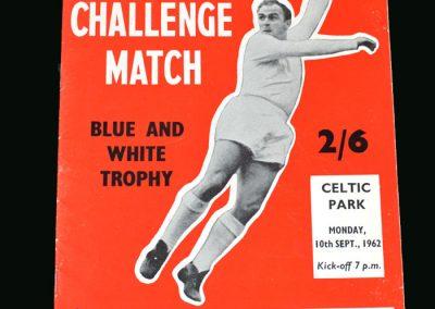 Celtic v Real Madrid 10.09.1962 (Friendly)