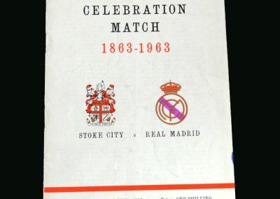 Stoke v Real Madrid 24.04.1963 (Friendly)