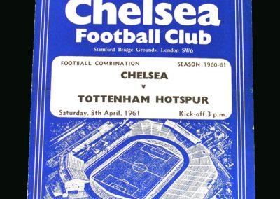 Spurs v Chelsea 08.04.1961