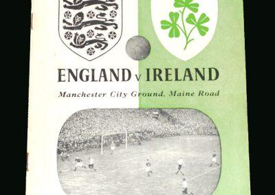 England v Ireland 16.11.1949