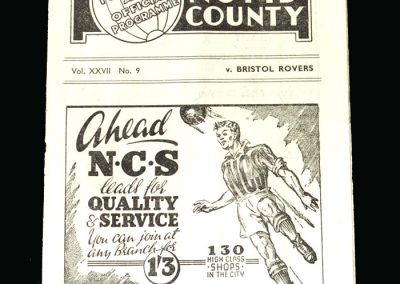 Notts County v Bristol Rovers 22.11.1947