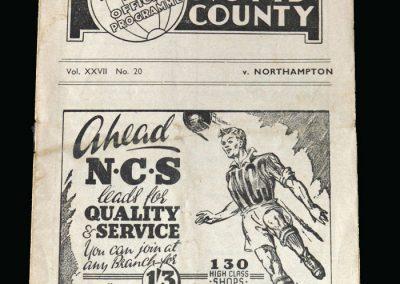Notts County v Northampton 03.04.1948