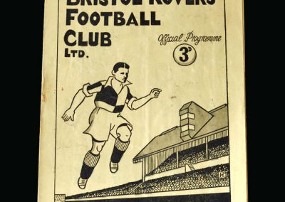 Notts County v Bristol Rovers 10.04.1948 (Tommy was playing for England at Hampden)