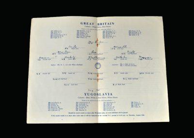 Great Britain v Yugoslavia 11.08.1948 (Olympics Semi Final)