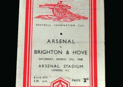 Arsenal v Brighton 27.03.1948