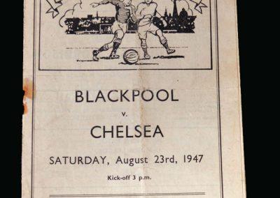 Blackpool v Chelsea 23.08.1947 (Matthews Debut)