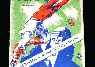 Blackpool v Man Utd 24.04.1948 (FA Cup Final)