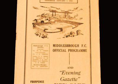 Middlesbrough v Derby 02.01.1960 (2 Goals)