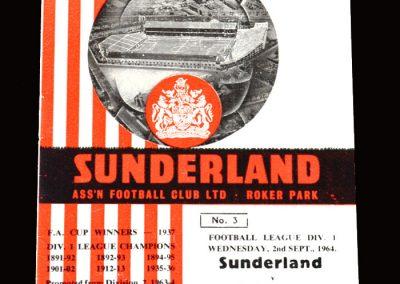 Sunderland v West Brom 02.09.1964 (tries again)